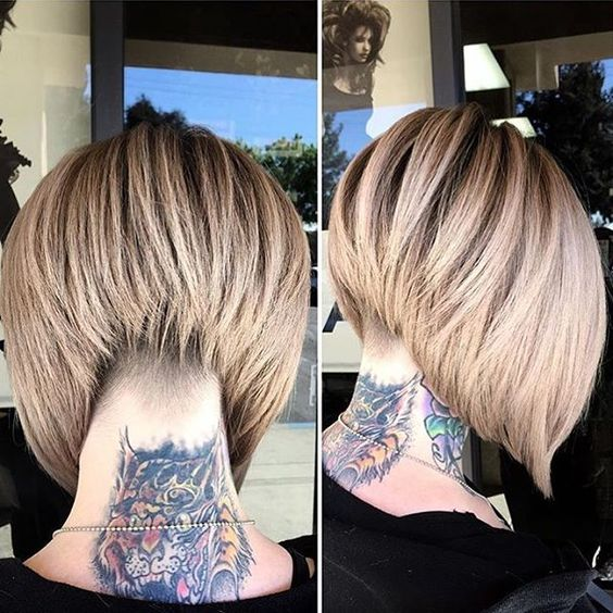 30 Stacked Bob Haircuts For Sophisticated Short Haired ...