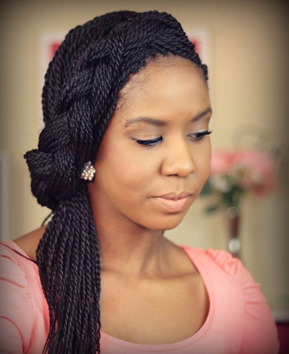 35 Stunning Kinky Twists Styles You\'ll Love To Try!