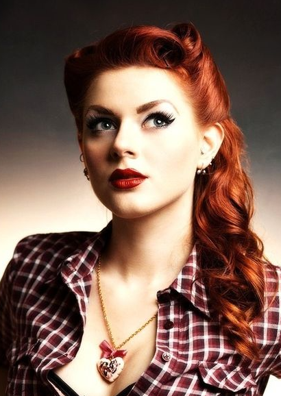 upstyle hair styles the best 30 pin up hairstyles for glamorous retro 6100