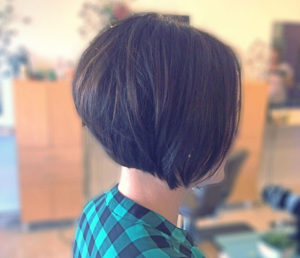 classic stacked bob