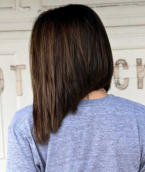 This Inverted Lob Features A Dramatic Difference In Length Between Back And Front Making It Easy To Wear Up Or Down The Ends Have Texture Added Keep