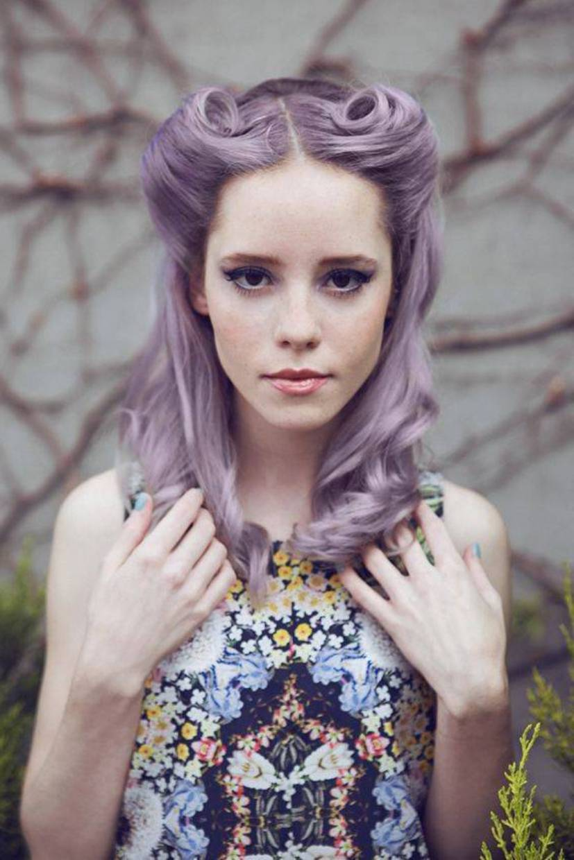 Best Pin Hairstyles Glamorous Retro Girls