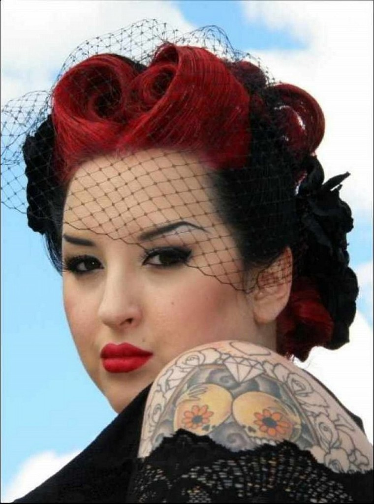 free hair style the best 30 pin up hairstyles for glamorous retro 4523