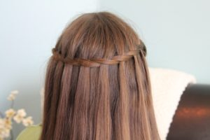 waterfall twist braid