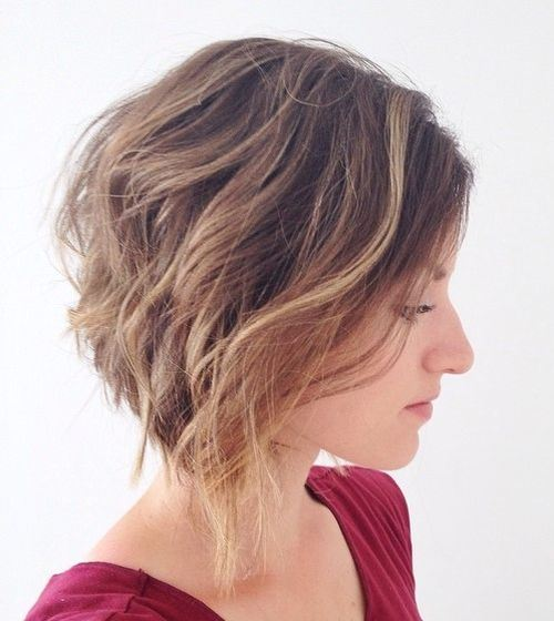 28Inverted Bob With Waves