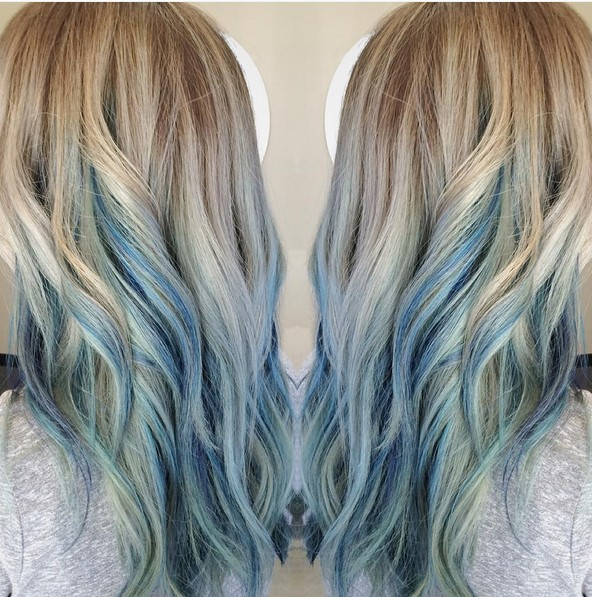 How To Dye Your Hair Blue Naturally