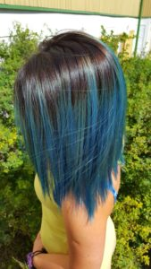 High Blue Ombre