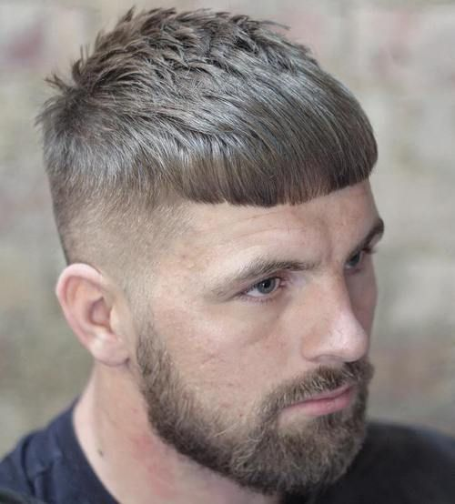 Top Caesar Haircut Styles Stylish Modern Men