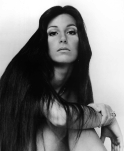 cher long straight hair