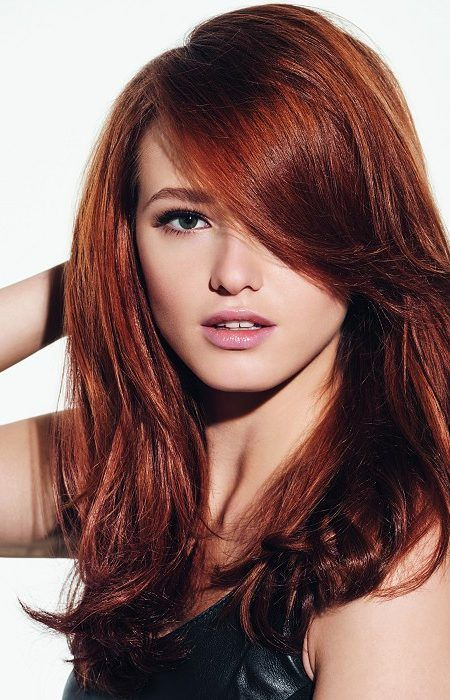 30 Dark Red Hair Color Ideas Sultry Showstopping Styles Part 6