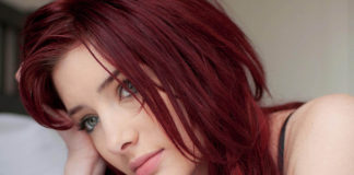 dark red hair color ideas