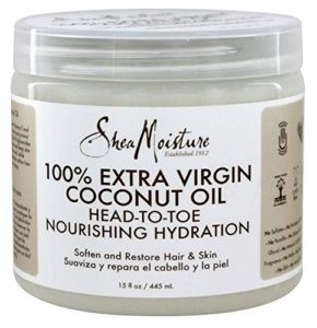 shea moisture extra virgin coconut oil