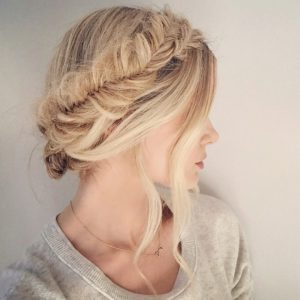 Fishtail Wrap Around Crown