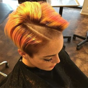 Geometric Shaved Part