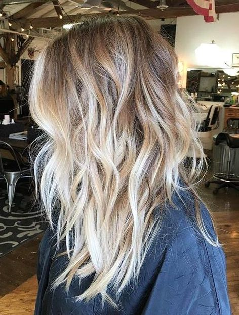 Blonde Balayage Hair Colors With Highlights
