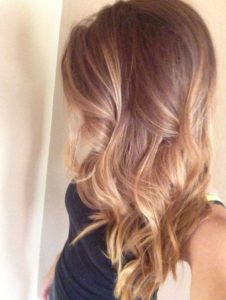 Golden Toffee Balayage