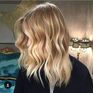 Golden Waves balayage