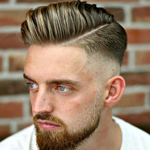 30 Hard Part Haircut Ideas For The Modern Dapper Man