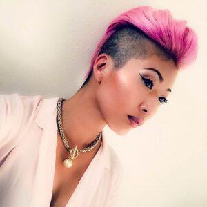 Pink Mohawk Pixie