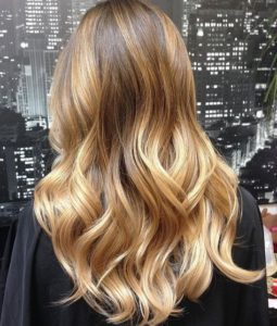 Rich Golden Blonde Balayage