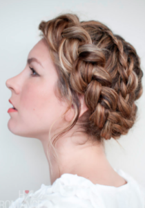 Spiral Crown Braid