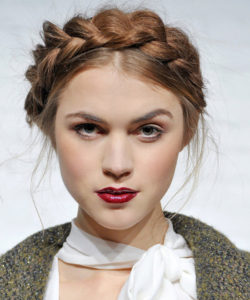 Thick Milkmaid Braid
