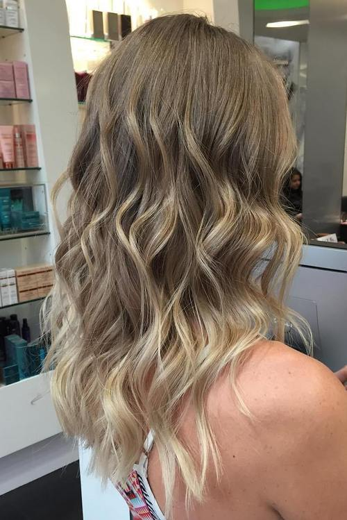 Blonde Balayage Hair Colors With Highlights Balayage Blonde Part 25
