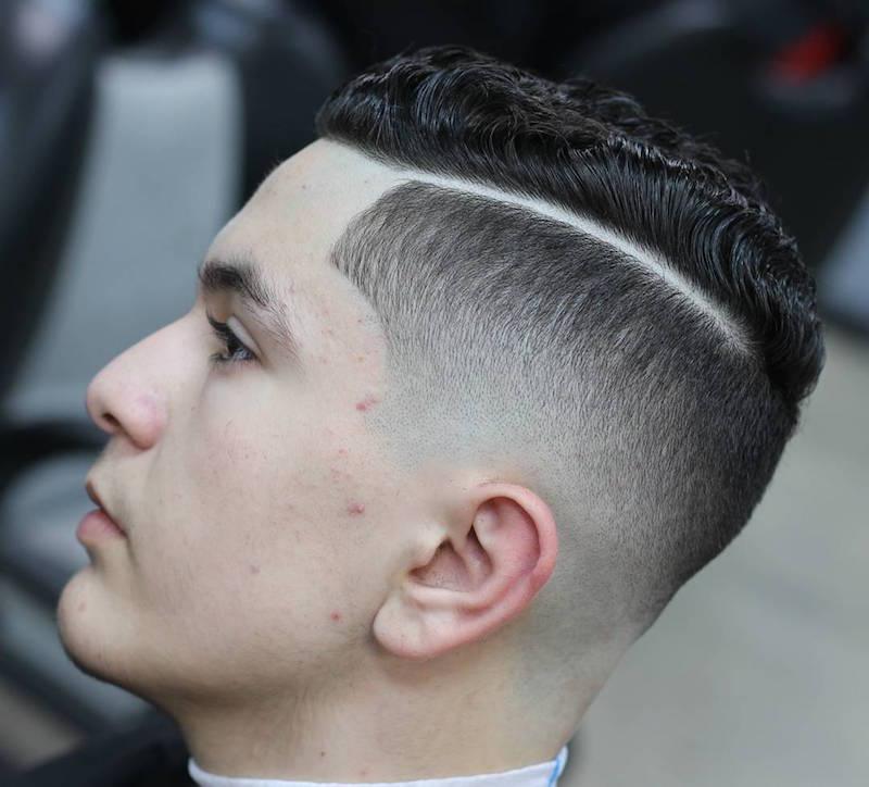 30 Hard Part Haircut Ideas For The Modern Dapper Man