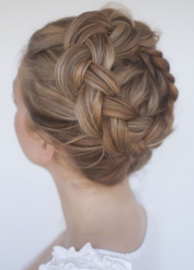 high crown braid