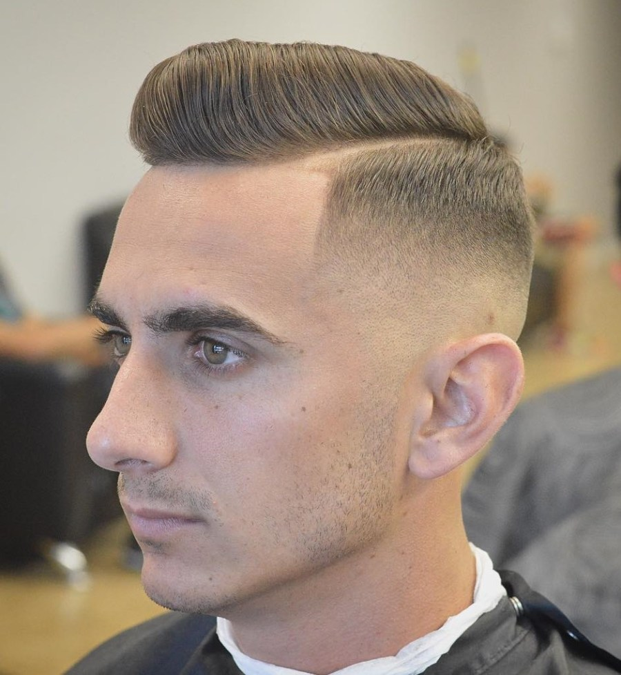30 crisp military haircuts for a clean masculine style