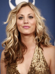 Blonde glamour waves with brown ombre