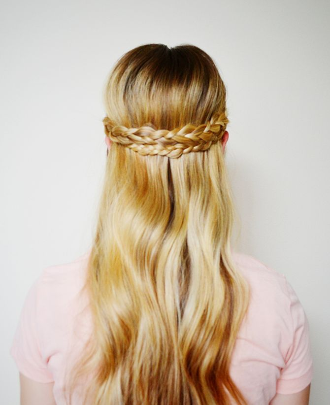 Super Cute Easy Hairstyles Long Haired Ladies