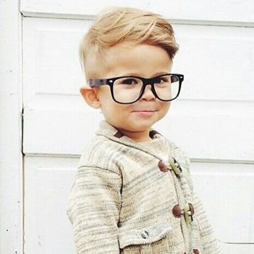 16 Toddler Boy Haircuts For Cute