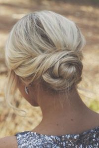 Simple Low Twisted Bun