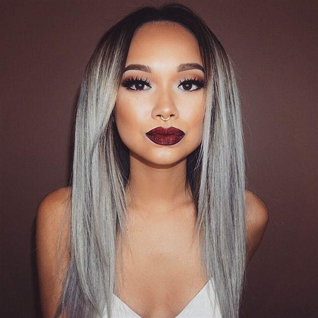 A Millennial S Guide To Gray Hair Dye Hairstyles Haircuts For