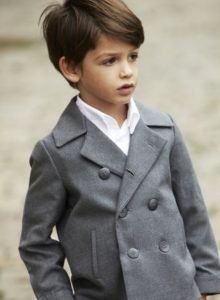 Little Boys With Thick Straight Hair Look Great Wearing This Tapered Cut Thats Somewhere Between Short And Mid Length The Style Can Look Like A Classic