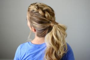 dutch mohawk ponytail