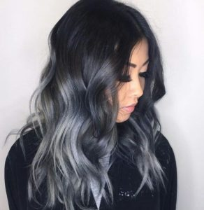 Grey Hair Black Roots Find Your Perfect Hair Style