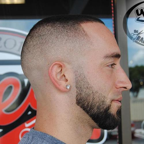 30 high and tight haircuts for classic clean cut men the subtle fringe detail in this style is a great example of how an ultra short cut can still be interesting and stylish and combining it with a finely solutioingenieria Gallery