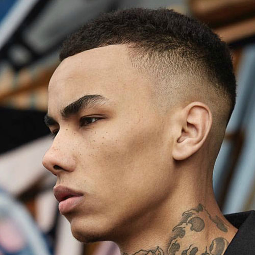 Buzz Cut Mens Fashion