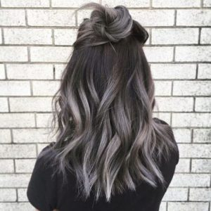 natural brunette grey