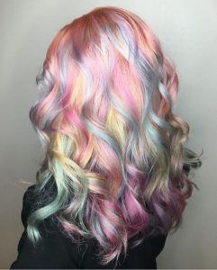 All Over Pastel Rainbow