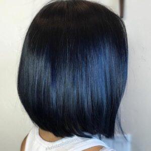 Blue Black Shine