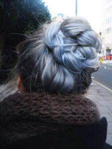 Blue Gray Braid