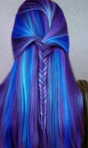 Blue Unicorn Hair