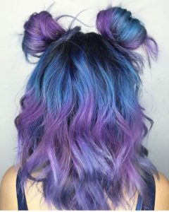 Blue and Purple Palette