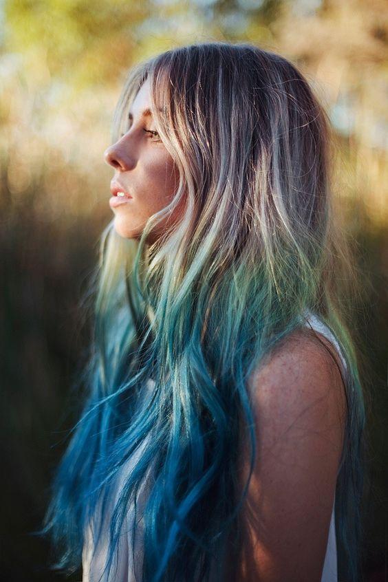 Blue Hair 30 Brand New Bangin Blue Hair Color Ideas