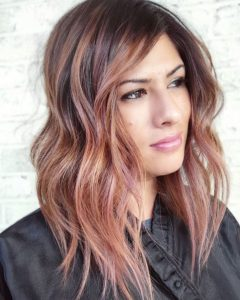 Blush Rose Balayage