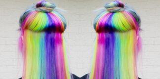 Crazy Rainbow Hair Color Inspirations