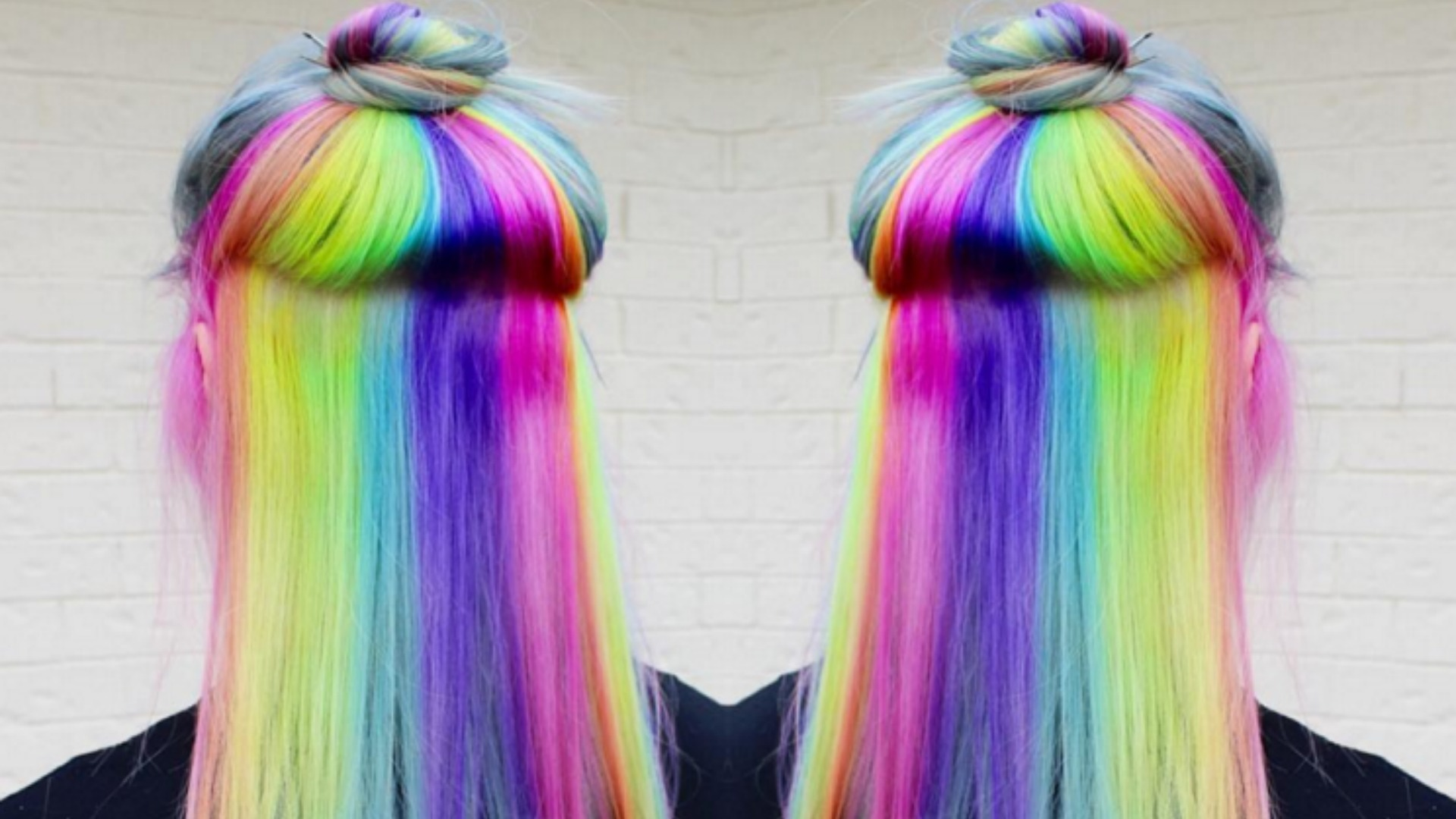 Rainbow Hair Crazy Color Inspirations